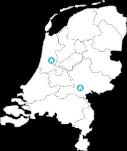 Locaties van SmartDry