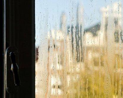 Condensatie op de ramen