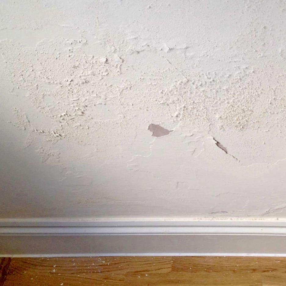 Optrekkend vocht in de muur
