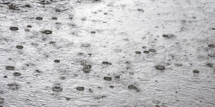 Doorslaand vocht door de regen - Blog