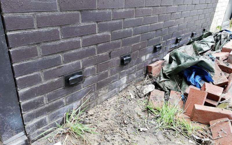 DryBricks - Oplossing voor optrekkend vocht in de buitenmuur