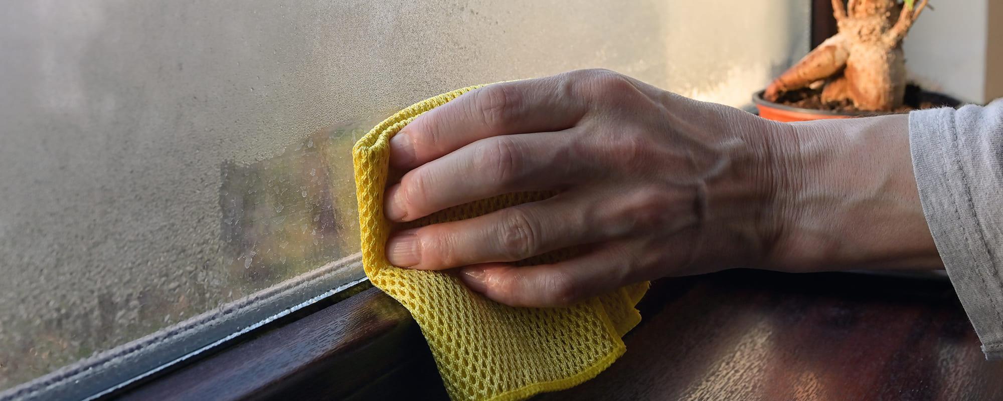 Condensatievocht in huis