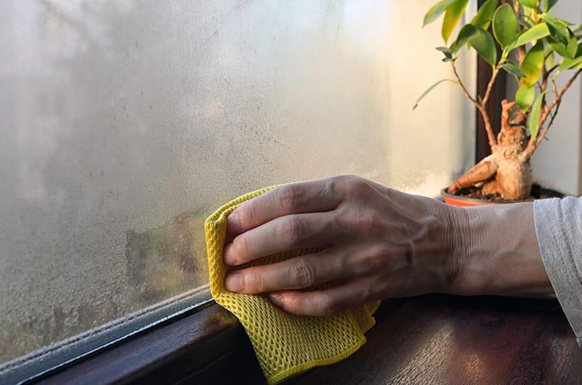 Een hoge luchtvochtigheid zorgt voor beslagen ramen